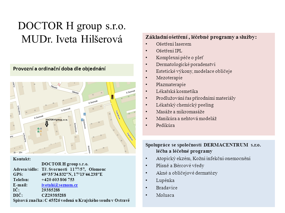DOCTOR H group, s.r.o.